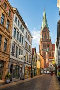 Europe, Germany, Mecklenburg-Vorpommern, Schwerin, Schwerin Cathedral