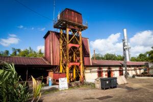 Habitation la Favorite, Rumdestillerie, Destillation mit Dampfmaschine wie vor 100 Jahren