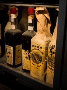 Saint James, der Schatz von Saint James, Original Flaschen von 1885