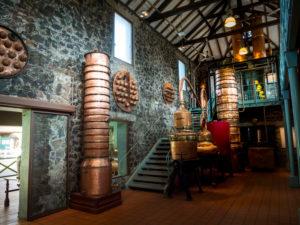 Saint James, Rummuseum mit alten Destillationsaperaten