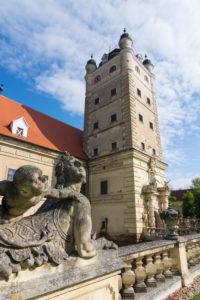 Röhrenbach, Schloss Greillenstein Castle, in Waldviertel, Niederösterreich / Lower Austria, Austria
