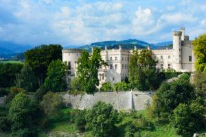 Wolfsberg, Wolfsberg Castle in Austria, Carinthia,