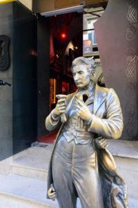 Lviv (Lwiw, Lemberg), statue of Leopold von Sacher-Masoch in Lviv Oblast, Ukraine