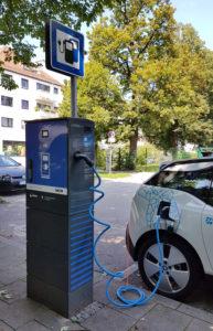 Stadtwerke München charging station