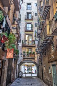 Spain, Barcelona city, ciutat vella, el rabal area,