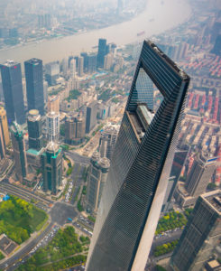 China, Shanghai City, Pudong District, Lujiazui Area, World Financial Center