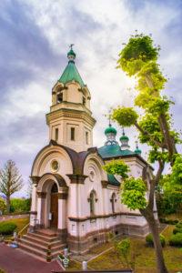 Japan, Hokkaido, Hakodate City, The Orthodox Church