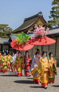 Japan, Kyoto City, Aoi Matsuri, Festival, Ladies of the Court Parading