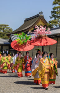 Japan, Kyoto City, Aoi Matsuri, Festival, Ladies of the Court Parading
