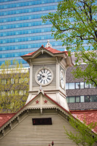 Japan, Sapporo City, The Clock Tower