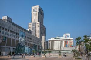 Japan, Sapporo Station, Sapporo JR Tower