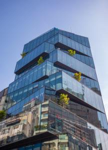 Japan, Tokyo City, Shibuya area architecture