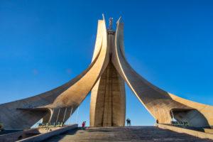 Argelia, Argel City, Martyrs Monument , Memorial, Makam El Chahid