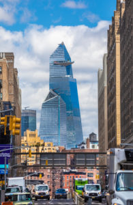 USA, New York City, Manhattan,, Hudson Yards Bldgs.