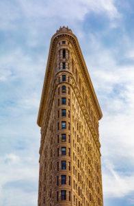USA, New York City, Manhattan, Flatirion Bldg.