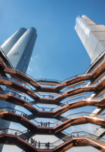 USA, New York City, Manhattan, Midtown, Hudson Yards, The Vessel