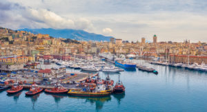 Italy, Genova City, Genova Harbour