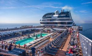 Italy, MSC Bellisima Cruiser Ship, Top Deck