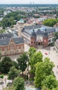 Speyer, Blick vom Dom auf die Stadt, Historisches Museum der Pfalz