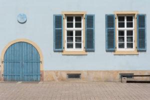Altstadtfassade, in der Altstadt von Speyer