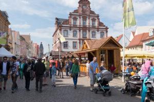 Speyer, Maximilianstraße mit der Alten Münze.