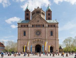 Speyer, der Kaiserdom, UNESCO-Weltkulturerbe