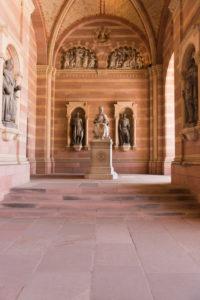 Speyer, der Kaiserdom, UNESCO-Weltkulturerbe, die Vorhalle