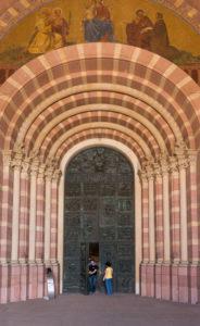 Speyer, der Kaiserdom, UNESCO-Weltkulturerbe, Hauptportal