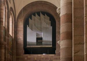 Speyer, der Kaiserdom, UNESCO-Weltkulturerbe, die Orgel im Dom