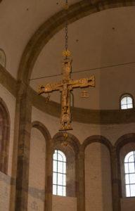 Speyer, Kreuz im Dom.