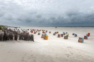 Germany, Lower Saxony, East Frisia, Juist, on the beach of Juist.