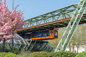 Germany, North Rhine-Westphalia, Wuppertal, the suspension railway was opened on 1 March 1901