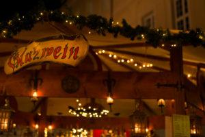 Germany, Baden-Württemberg, Karlsruhe, Christmas market at Durlach