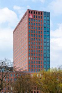 Deutschland, Hessen, Frankfurt, Hochhaus der IG Metall.