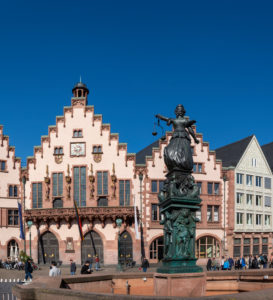 Deutschland, Hessen, Frankfurt, Der Römer ist seit dem 15. Jahrhundert das Rathaus der Stadt Frankfurt am Main