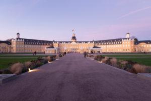 Deutschland, Baden-Württemberg, Karlsruhe, das Schloss.