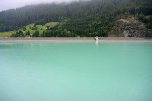 Austria, Montafon, Gaschurn, reservoir.