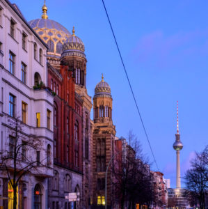 Deutschland, Berlin, Neue Synagoge an der Oranienburger Straße.