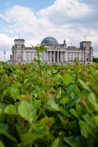 Reichstag, seat of the German Bundestag, Platz der Republik, Berlin Mitte, Germany, Europe