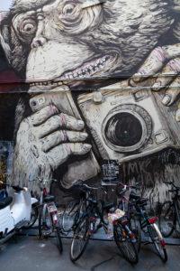 Street art, Haus Schwarzenberg, Mitte, Berlin, Germany