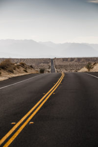 Highway CA-78, Imperial County, California, USA