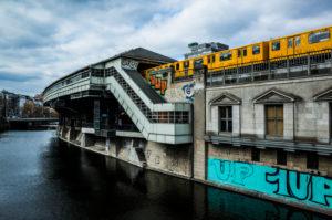 Hallesches Tor underground station, Kreuzberg, Berlin