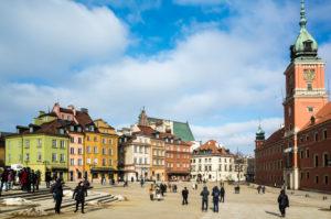 Old Town, Warsaw Royal Castle, Warsaw, Poland