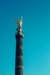 Victoria on the Victory Column,Tiergarten,Berlin,Germany
