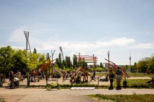 Playground at Mauerpark, Prenzlauer Berg / Wedding, Berlin