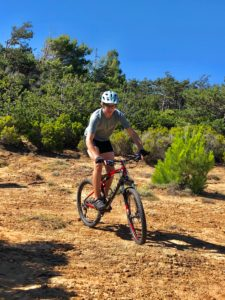 Adolescent, mountain bike, cyclist, terrain, sport, vacation, strenuous, joy,