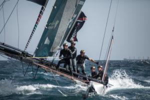 Spain, Barcelona, sailing regatta