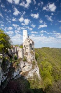 Schloß Lichtenstein auf der Schwäbischen Alb