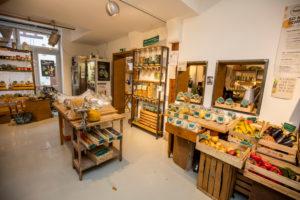 Organic shop for vegetarian, vegan and alternative nutrition
