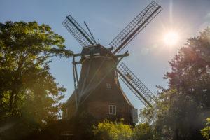 Windmill, North Sea, Meldorf